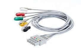 Cable paciente latigillos 3 terminales para monitor Vista 120