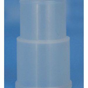 Conector desc. Recto para Máscara de aerosol terapia 18 mm D EXT / 22/18 mm