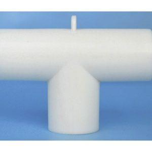 Conector en T desc 22 mm D INT / 22/18 mm / 22 D EXT